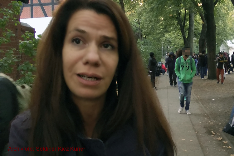 Diana Lucienne Pressesprecherin Moabit Hilft