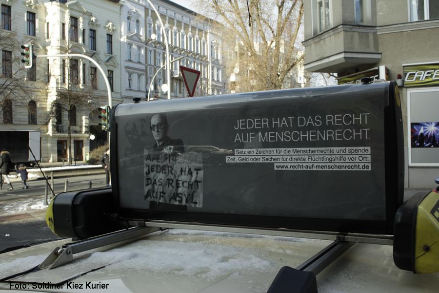 Taxi Menschrechte Soldiner Kiez