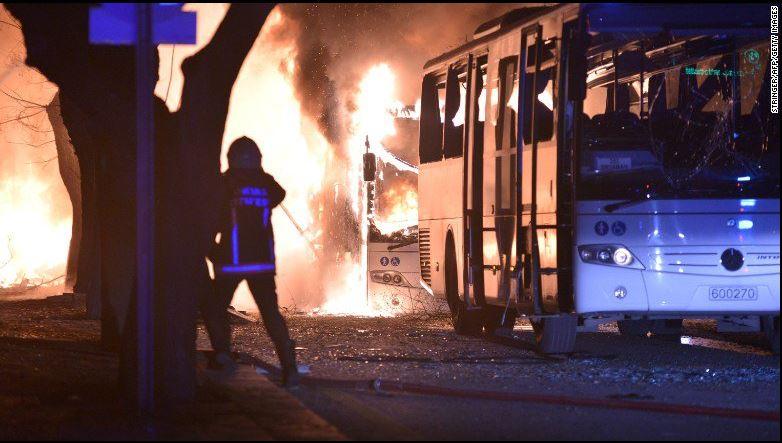 Anschlag auf Militärkonvoi in Ankara