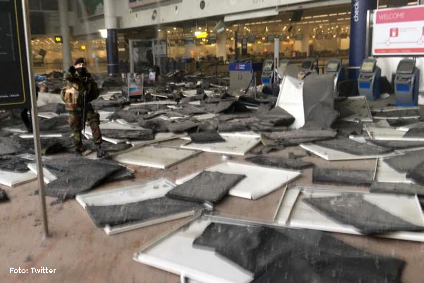 Anschlag Flughafen Brüssel