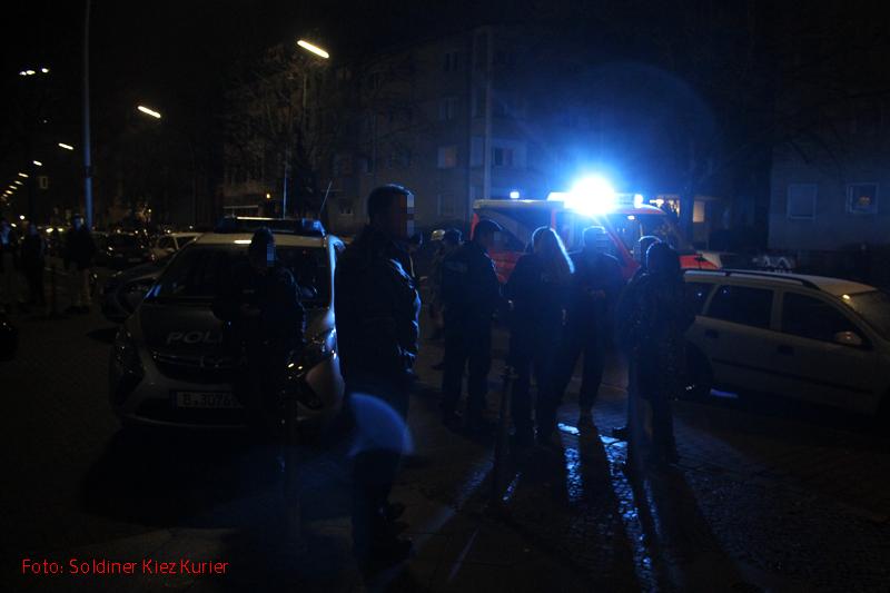 Bombenalarm in der wollankstraße Gesundbrunnen Soldiner Kiez (2)