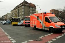 Unfall Kreuzung prinzenallee Osloerstrasse Soldiner Kiez (9)