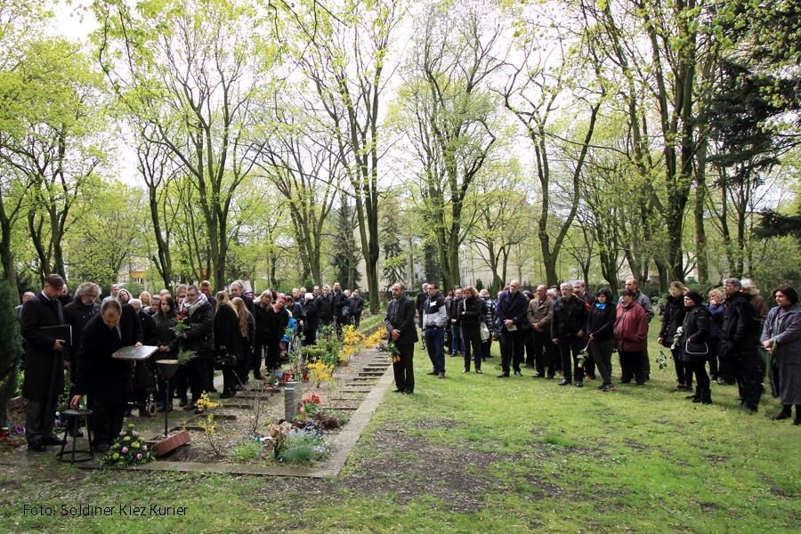 Beisetzung Sabine Schmiele Elisabeth Friedhof Soldiner Kiez