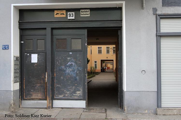 Bellermannstraße in Wohnhaus mit 5 hinterhäusern
