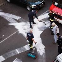 Ölspuren in der Gotenburger Straße