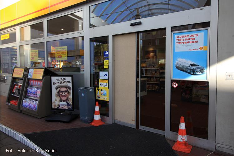 Diebstahl Esso Tankstelle Prinzenallee