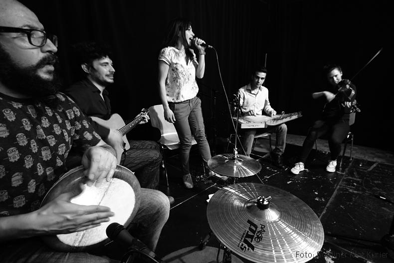 KiezKlang präsentierte Musikgruppe Fattouch im Soldiner Kiez (8)