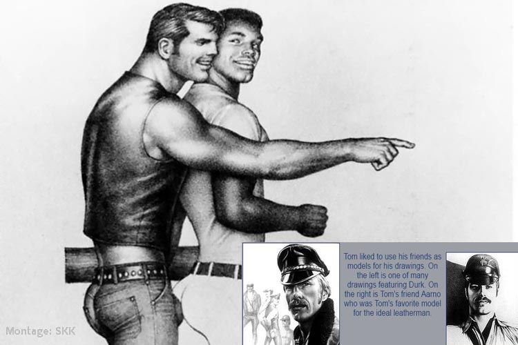Tom of Finland Filmdreh in Berlin Wedding Gesundbrunnen