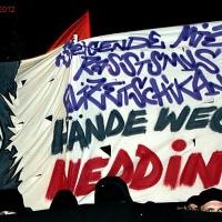 """Demo in Gesundbrunnen """"Hände weg vom Wedding"""" zur Walpurgisnacht"""