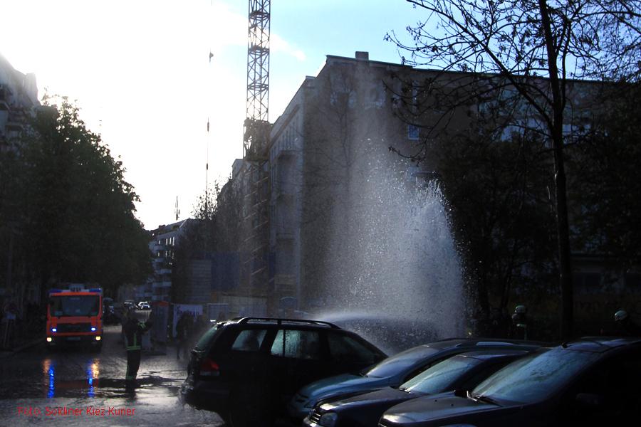 Wasserfontäne Kophenhagener Straße Berlin Mitte (2)