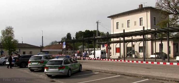 Bahnhof Grafing Messerattacke ein Toter drei Verletzte
