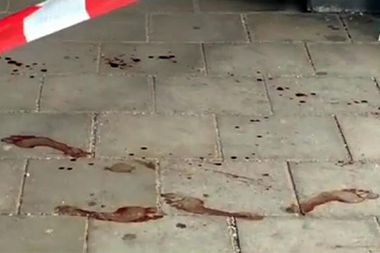Grafing Messeranschlag ein Toter Titel
