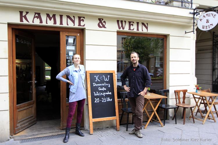 Kamine und Wein Heiko Schmidt und Miriam Weinprobe