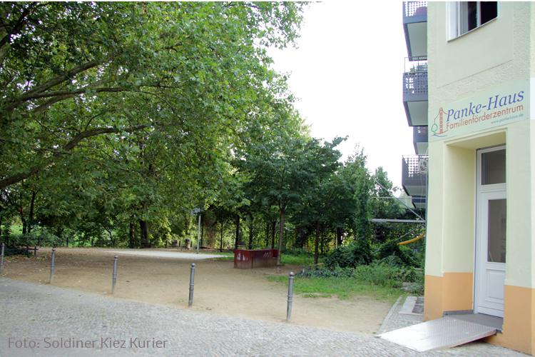 Panke Haus Soldiner Strasse an der walter niklas promenande