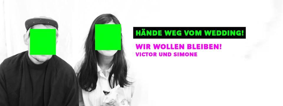 Victor und Simone grüntaler straße bedroht von räumung