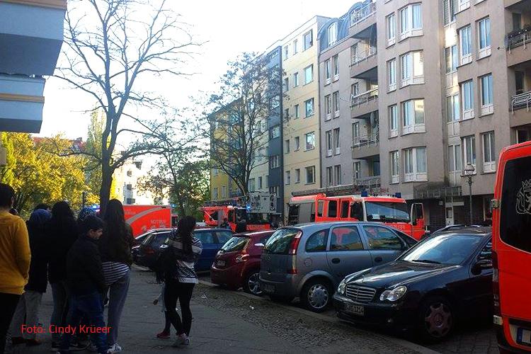 Wohnungsbrand in der freienwalder Straße soldiner Kiez Gesundbrunnen (1)