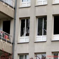 Wohnungsbrand in der Freienwalder Straße in Gesundbrunnen schnell gelöscht