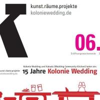 Kolonie Wedding feiert Fünfzehnjähriges