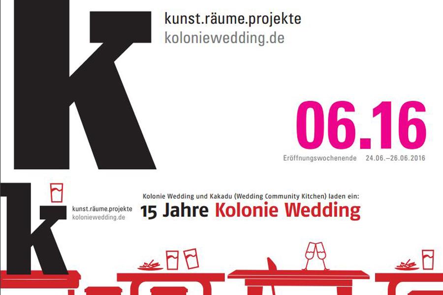15 Jahre Kolonie Wedding Titel