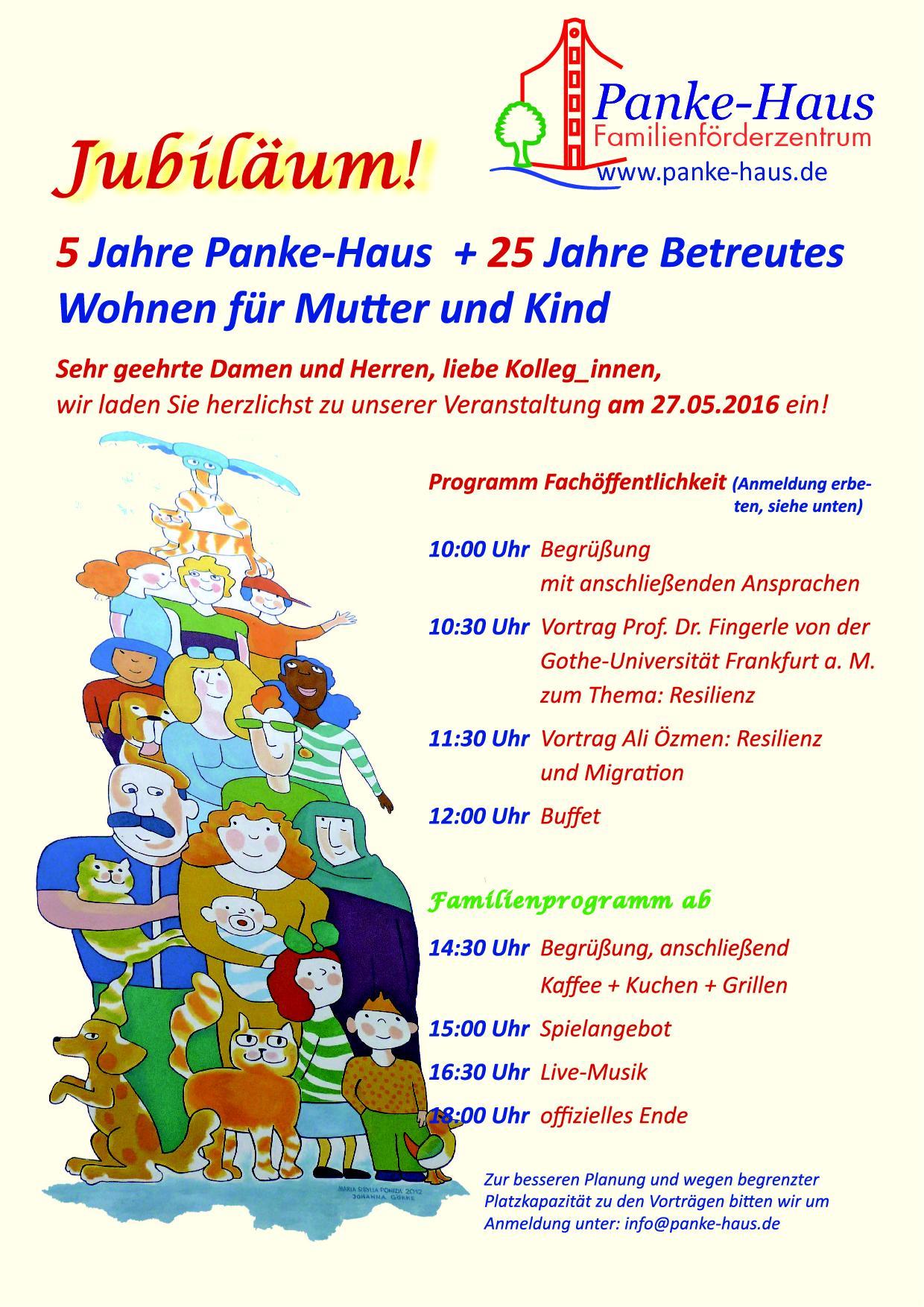 5 Jahre Pankehaus feier