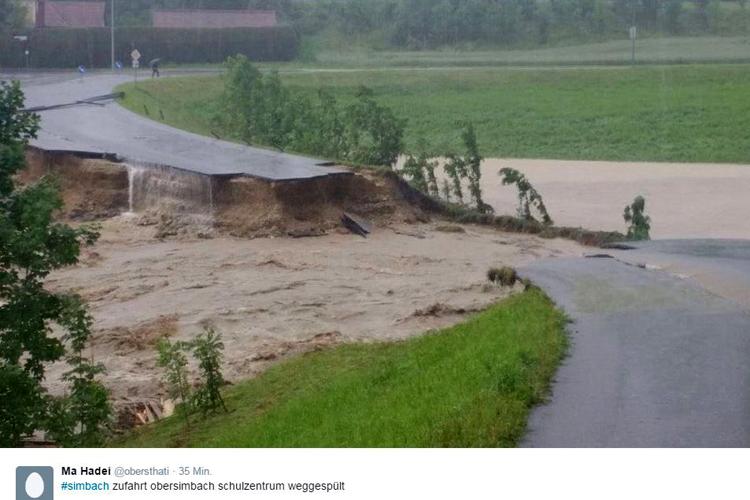 überschwemmung  Inn Lankreis Rottal 2016 (1).jpg