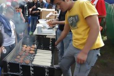 Grillfest nuk osloer straße flüchtlinge
