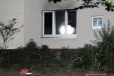 rettungseinsatz von Helfern bei feuer in Osloer Straße (2)