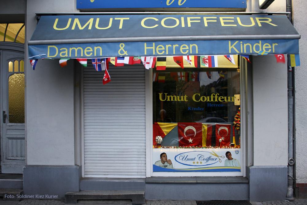 Umut Coiffeur Prinzenallee 29 Soldiner Kiez Berlin