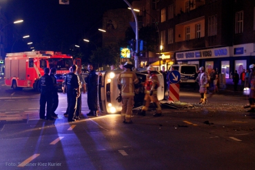 Unfall Prinzenallee Ecke Osloer strasse  (1)