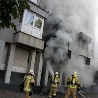 Feuer in der Soldiner Straße
