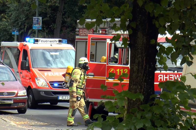 Feuerwehreinsatz Wollankstrasse titel