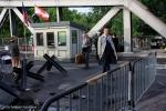 Filmdreh Präsident Aserbaidschan İlham Əliyev Stettiner Brücke Berlin(4)