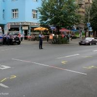Kind überlebt Unfall an der Wollankstraße Ecke Kattegatstraße