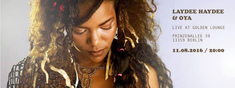 Laydee Haydee RootsReggae  Mauritius Golden Lounge soldiner kiez