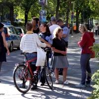 Fahrrad rammt PKW - Kreuzung Osloer Straße Ecke Prinzenallee