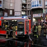 Kellerbrand am U-Bahnhof Pankstraße
