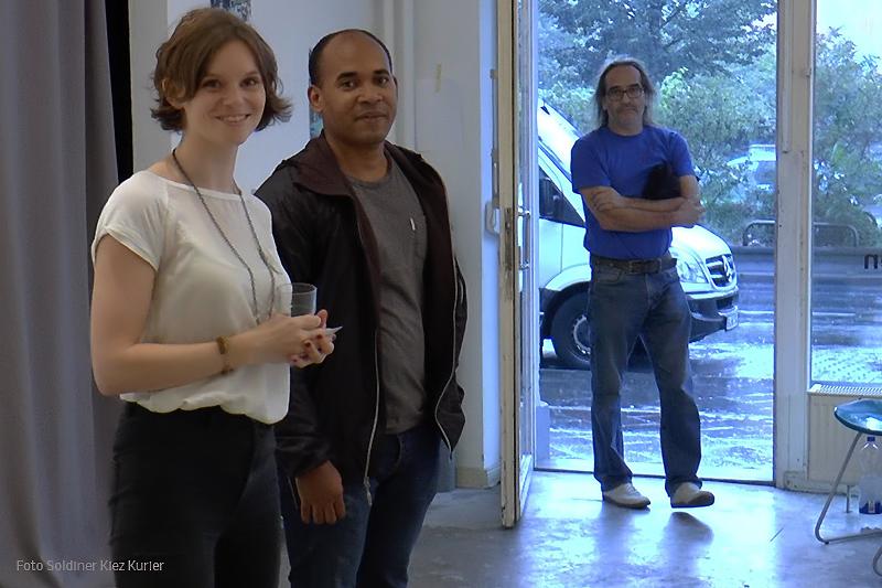Medienwissenschaftler Rayner García Hernandez  mit  Karen Ranke.JPG