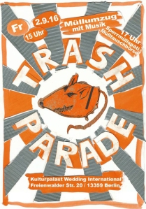 trash parade kulturpalast Wedding international 2
