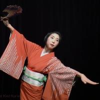Chihoko Yanagi tanzte bei ´Die wahre Welt der Geishas`