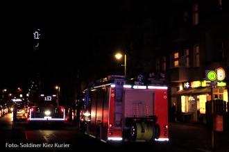 Böswillige Fehlalarme Brandstiftung in Soldiner Straße (1)