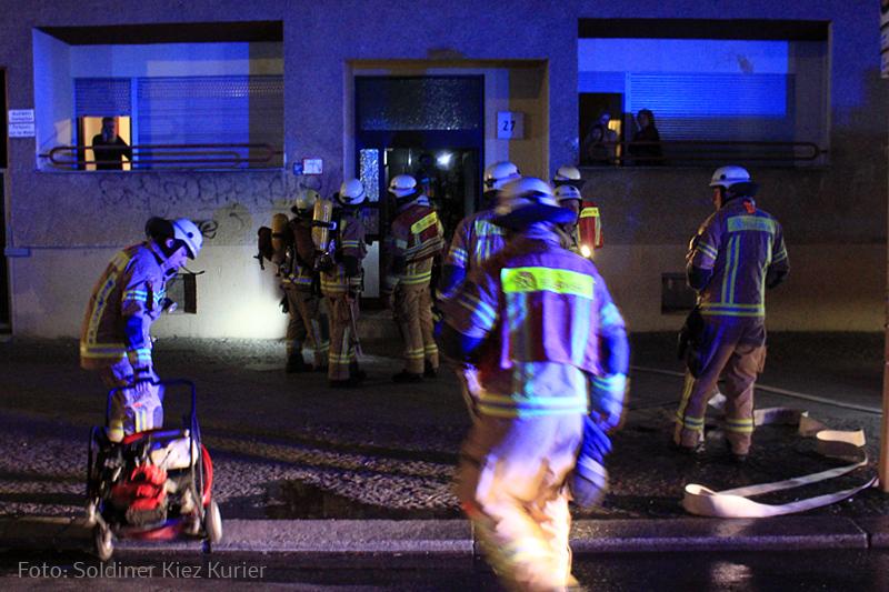 Böswillige Fehlalarme Brandstiftung in Soldiner Straße (5)