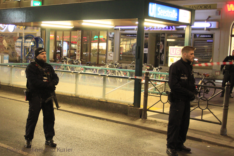 Socken Bombenalarm u Bahnhof Seestrasse (1)