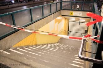 Socken Bombenalarm u Bahnhof Seestrasse (2)