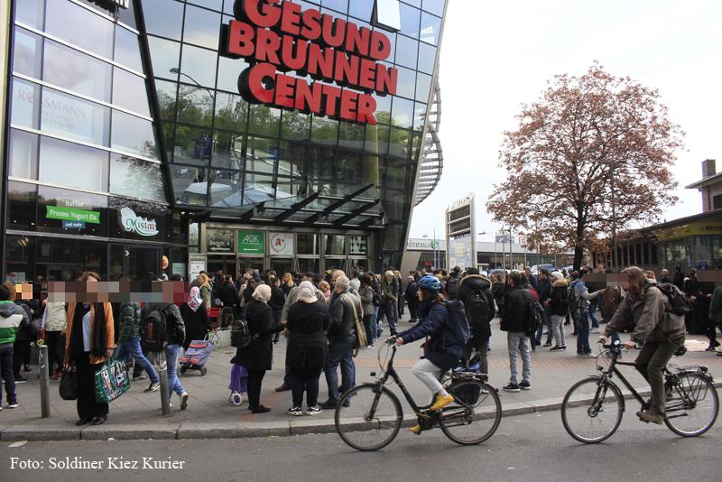 Gesundbrunnencenter berlin geräumt wegen verdächtigem Gegenstand (2)