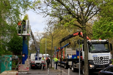 Grundwasserpumpe abgebaut osloer straße koloniestraße (1)