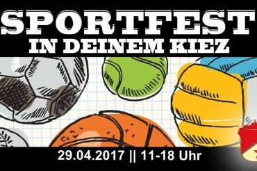 Roter Stern Sportfest im Kiez Wedding berlin titel
