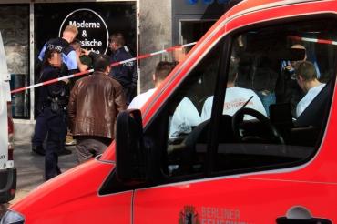 Schlägerei und Polizeieinsatz Prinzenallee (5)