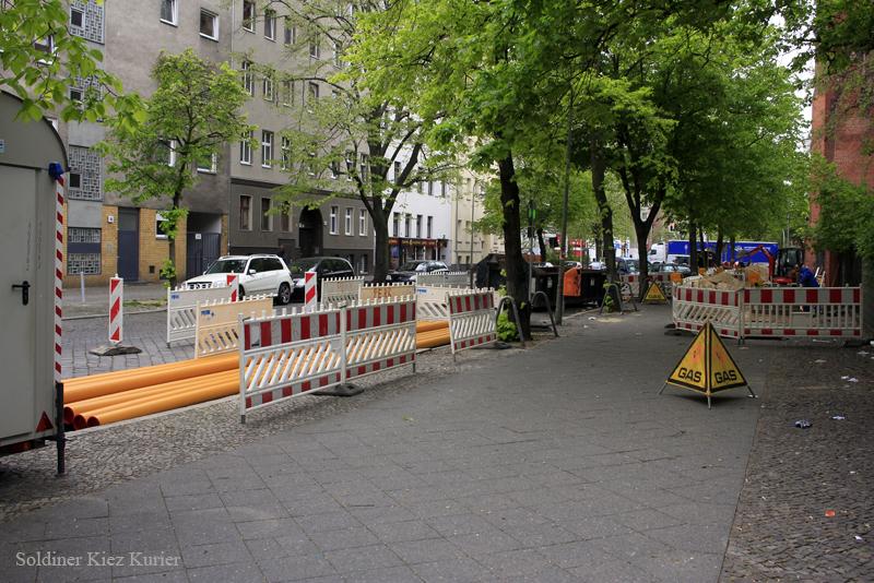 Soldiner Straße neue Gasleitungen (5)
