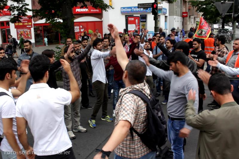 Ali Prozession im soldiner Kiez