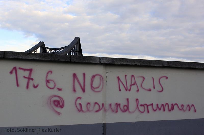 no nazis Gesundbrunnen 17juni17